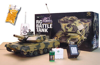 Heng long radio remote control  Leopard II A5 tank BB shooting  1/24 UK