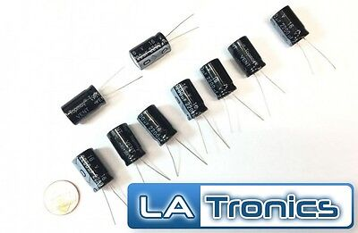10pc Topmay Electrolytic Radial Aluminum Capacitor 2200uf 16v 13x21mm 105c New
