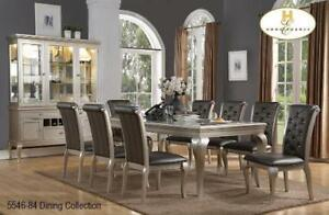 SILVER FINISH DINNING SET ON SALE TORONTO - CALL 905-451-8999(BD-10)