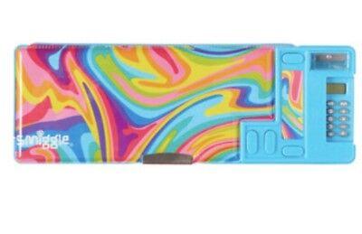 Latest! Smiggle Colour Blast Pop Out Pencil Case With Calculator