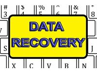DATA RECOVERY Hard Drive, Laptop, USB, Deleted Files. Fast Quick Free Quotation at realistic Prices.