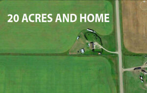 CALGARY LAND FOR SALE 20 ACRES FOR SALE CONRICH ACREAGE FOR SALE
