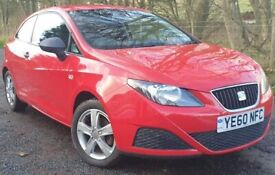 SEAT Ibiza 1.2 12v S SportCoupe 3dr 1Yr MOT Only 38000 Miles Air Conditioning Timing Chain Kit Done