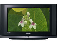 "Samsung HDTV 32"" - WS 32Z419D 'Slimfit' style CRT TV in Black with built in Freeview [DVB] + remote"
