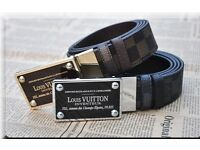 Louis Vuitton lv Inventeur Damier Belt