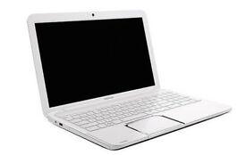 Toshiba L850-12P White AMD Dual Core 6GB 750GB Office 2016