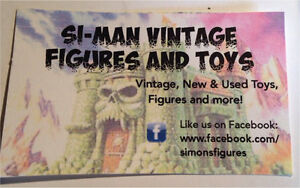 Si-Man Vintage Figures and Toys