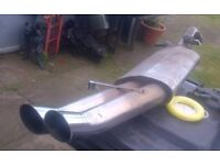 MK2 GOLF stainless steel exhaust