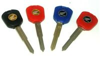 We Can Copy Your Honda Motorcycle Key! - Blue Red Black Keys!