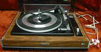 Technics rare turntable  SL-701 By Panasonic and retail box