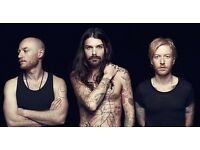 BIFFY CLYRO TICKETS GLASGOW BELLAHOUSTON PARK FOR SALE