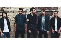 YOU ME AT SIX - DOWNSTAIRS STANDING - O2 SHEPHERDS BUSH EMPIRE - MON 24/10 - £40!