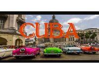Discounted 2 week holiday to Cuba