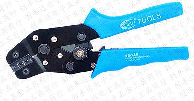 Dupont Pin Crimping Tool 2.54mm 3.96mm Kf2510 28-18 Awg Crimper 0.1-1.0m