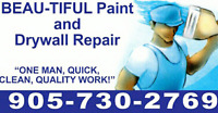 Beautiful Paint and Drywall Repair
