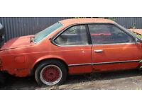 BMW E24 633csi spares