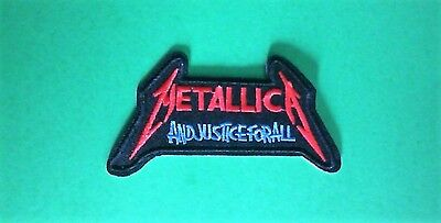 Metallica Iron On Patch and Justice for All  metal patch