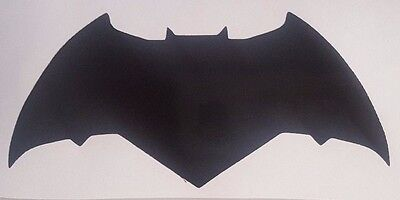 Dawn of Justice Batman Logo Vinyl Sticker Decal home laptop choose size/color - Batman Logo Stickers