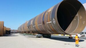 """Steel pipe 30"""" and 10"""""""