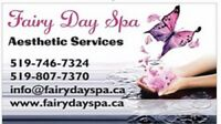 Aesthetic-services: Females only:Facial,Massage,Waxing,Mani&Pedi