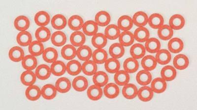 NEW Kadee Fiber Washers .015  Red (48) 208