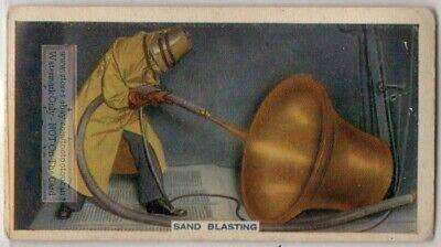 Sand Blasting High Pressure Abrasive 80 Yo Trade Ad Card