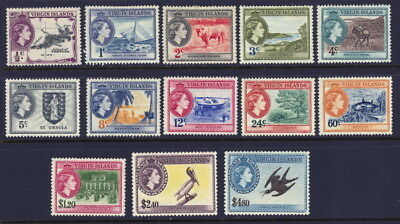 British Virgin Islands 115 to 127 complete set - mh/mnh Elizabeth II