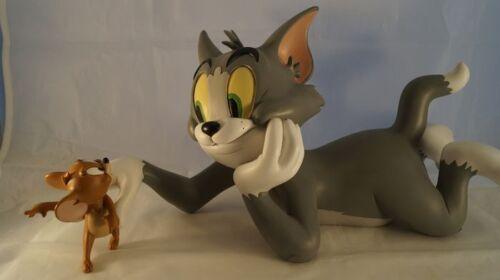 Extremely Rare! TM & Turner Tom & Jerry Gotcha Big Figurine Statue