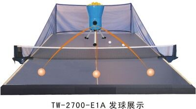 Used, Top brand easy setup ball catch net -> ping pong table tennis robot ball machine for sale  Shipping to Canada