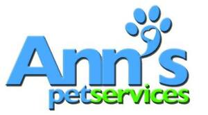 Ann's Pet Services is accepting new clients!