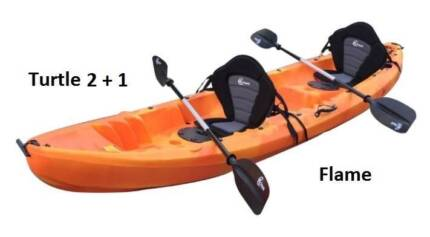 Double Kayak Packages from $598 incl. Seats and Paddles Mayfield East Newcastle Area Preview