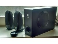 Logitech 2.1 Speakers.