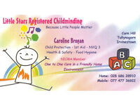 Registered Child Minder in Irvinestown Co Fermanagh
