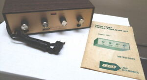 Vintage Solid State Stereo Hi-Fi Audio Amplifier Model 1003