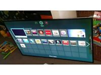 Samsung 55 inch led smart wifi new condition fully working with remote