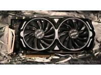 Msi Armor gtx 1080ti 11gb graphics card