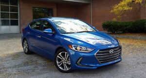 2017 Hyundai Elantra Limited / Leather / Navi + Push Start /CERT