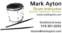 DRUM LESSONS DrumKit and Percussion