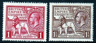 SG432-433 1925 Wembley Set UNMOUNTED MINT(338/347)