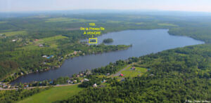 Presqu'île à vendre au lac Fortin