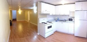 Rent: 1+den Basement apt for rent Bayview/Bloomington, March 1