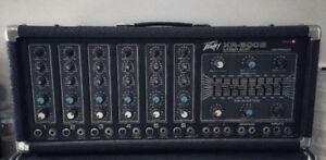 PEAVEY XR-600B - AMPLIFICATEUR / MIXER 6 ENTRÉES 1/4 et XLR