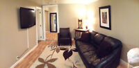 FURNISHED suite walking distance to University, downtown, river