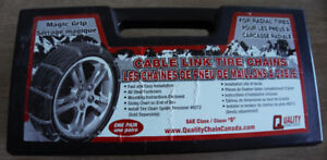 Tire Chains - used only once