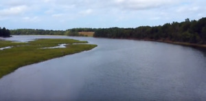 **6.5 Acres for Sale - Waugh's River - 350ft water-frontage**