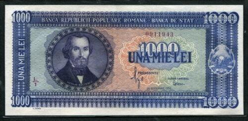 Romania 1950, 1000 Lei, P87, Original UNC