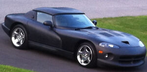 2001 Dodge Viper 650hp Convertible with removable hardtop