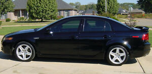 Beautiful Black Acura TL