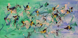 Super Gift Idea!! Jackson Pollock Style Abstract Paintings