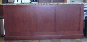 Bar with Granite Counter & Hutch - Beautiful - Nice Pieces Cambridge Kitchener Area image 4